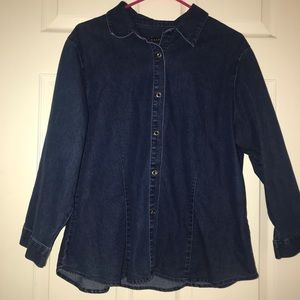 Sonoma Jean button down shirt